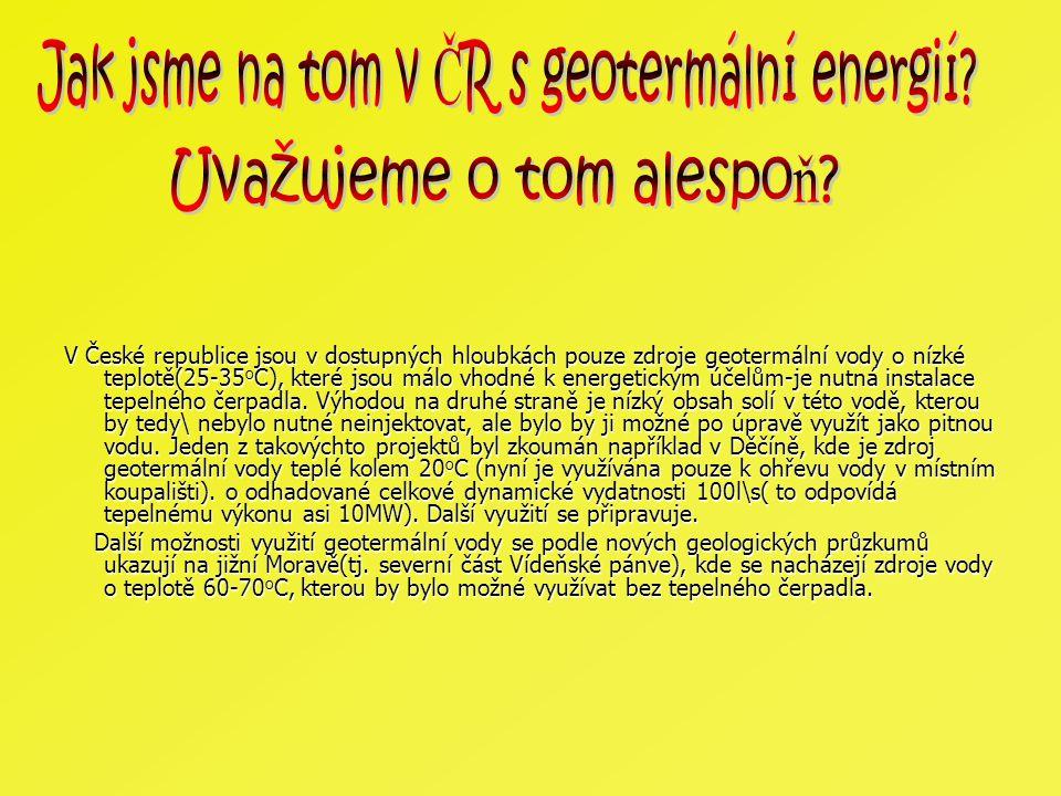 Jak jsme na tom v ČR s geotermální energií