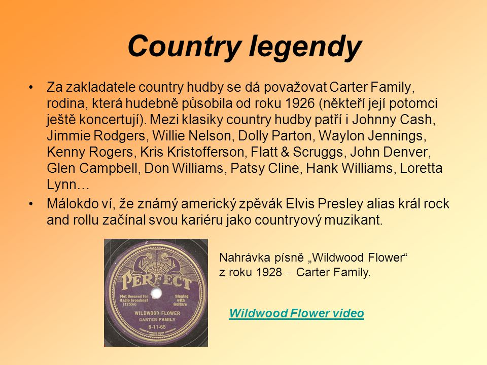 Country legendy
