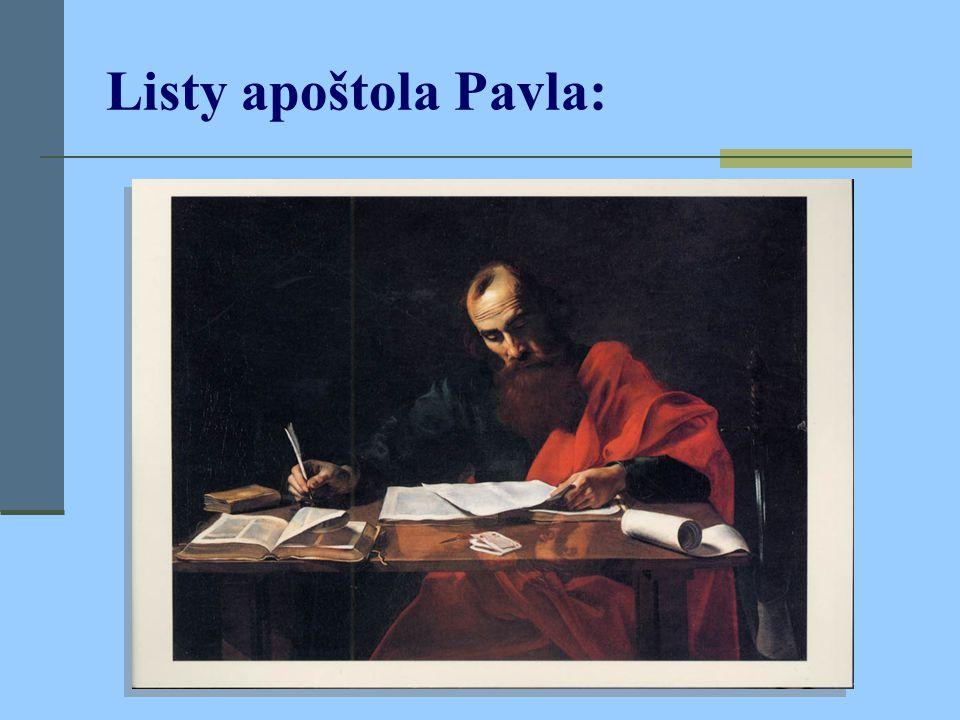 Listy apoštola Pavla: