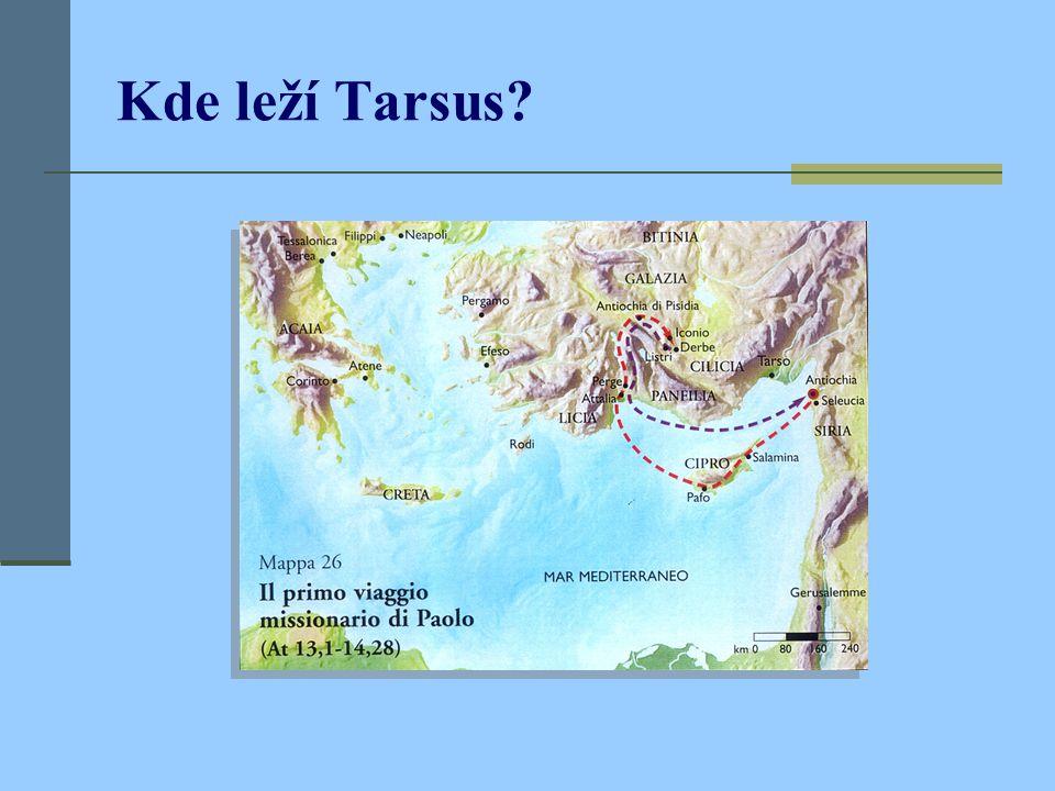 Kde leží Tarsus