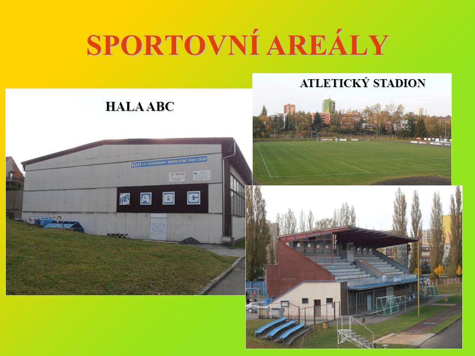 SPORTOVNÍ AREÁLY ATLETICKÝ STADION HALA ABC