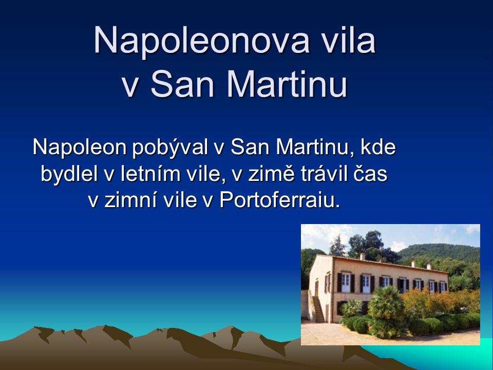 Napoleonova vila v San Martinu