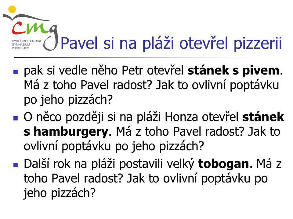 Pavel si na pláži otevřel pizzerii