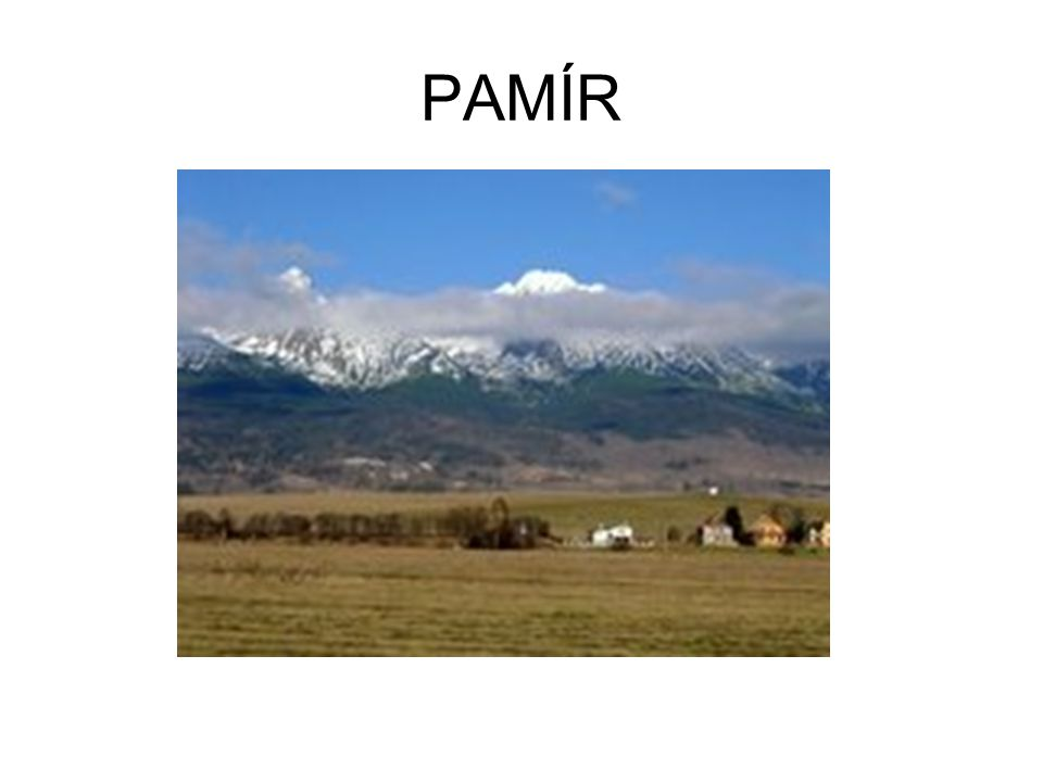 PAMÍR