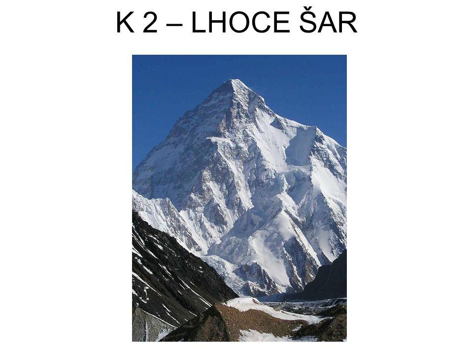 K 2 – LHOCE ŠAR