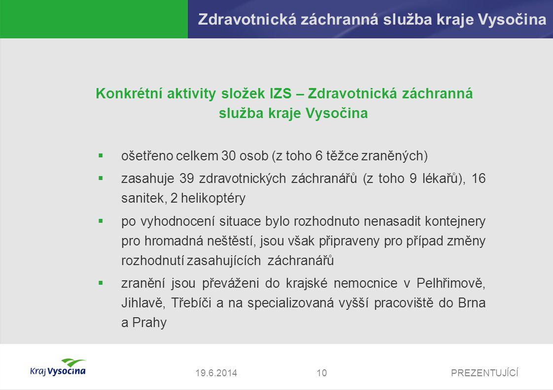 Zdravotnická záchranná služba kraje Vysočina