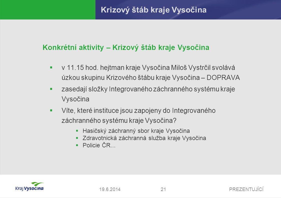 Krizový štáb kraje Vysočina
