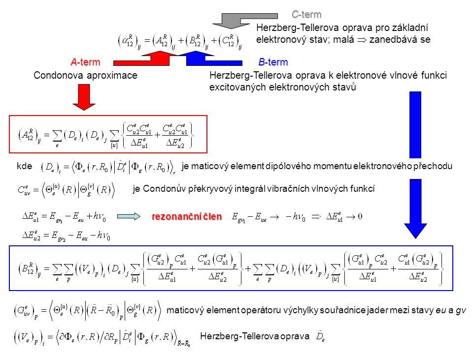 A-term Condonova aproximace B-term