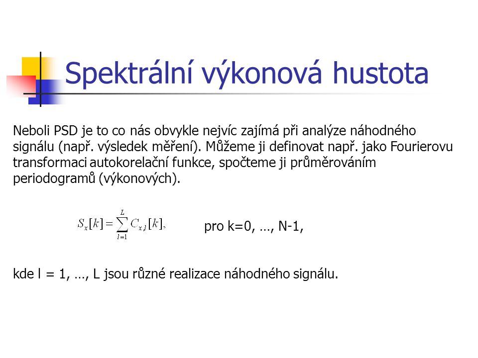 Spektrální výkonová hustota