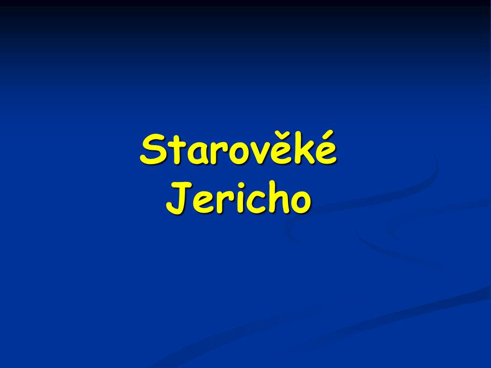 Starověké Jericho