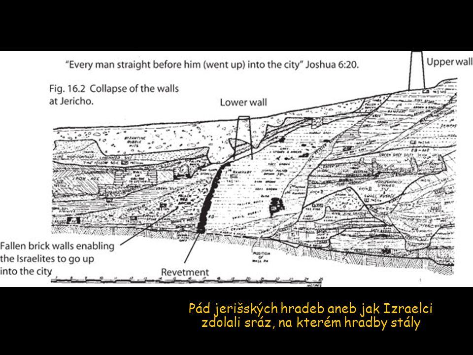 Pád jerišských hradeb aneb jak Izraelci zdolali sráz, na kterém hradby stály