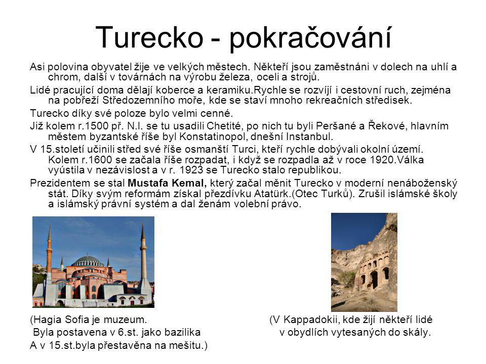 Turecko - pokračování