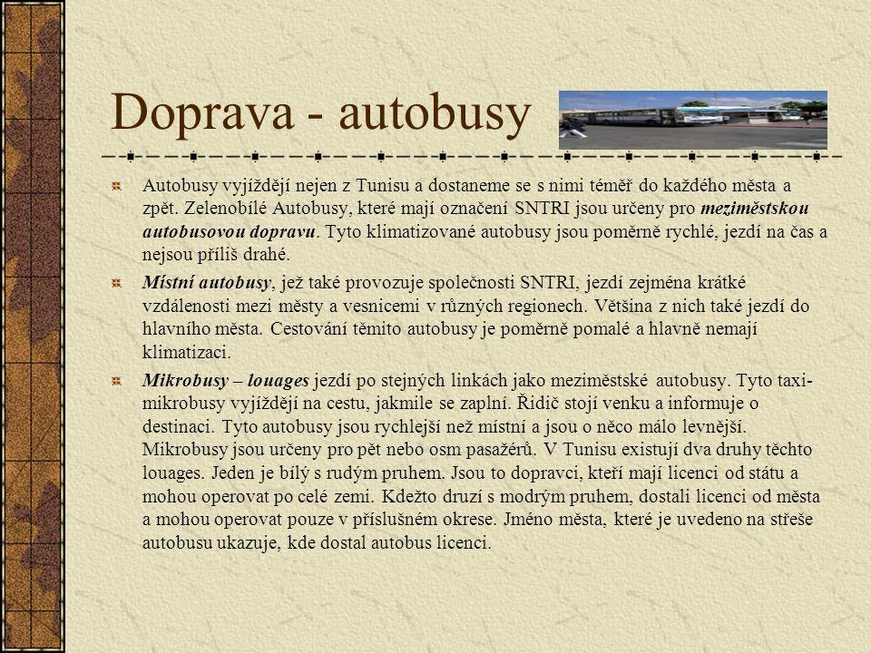 Doprava - autobusy