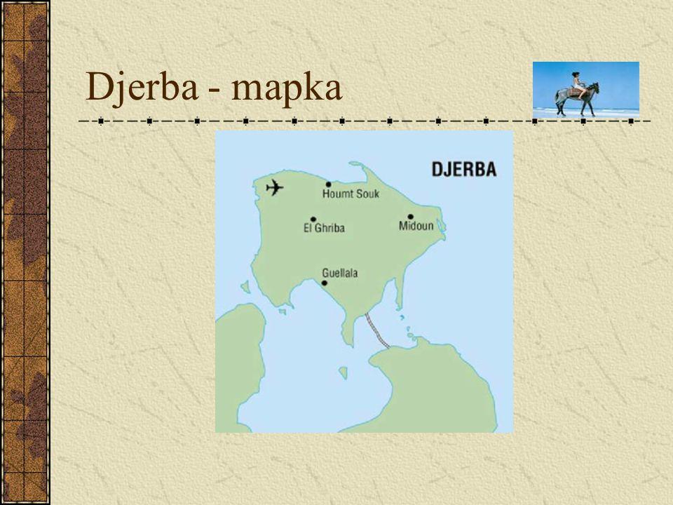 Djerba - mapka
