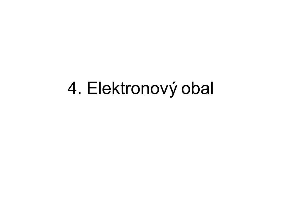 4. Elektronový obal