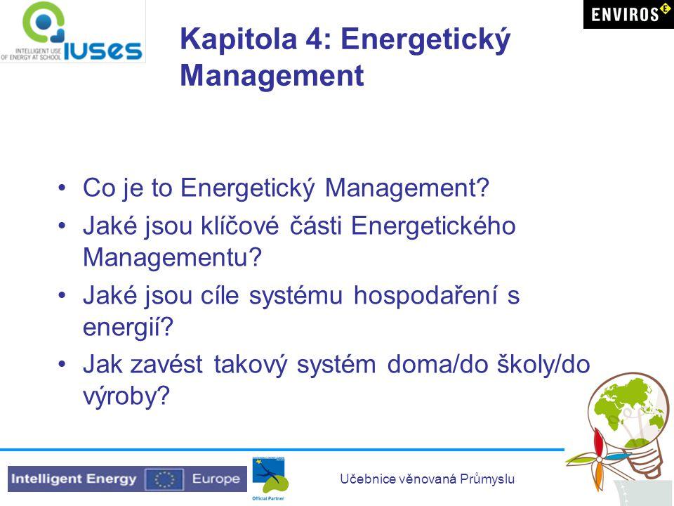 Kapitola 4: Energetický Management
