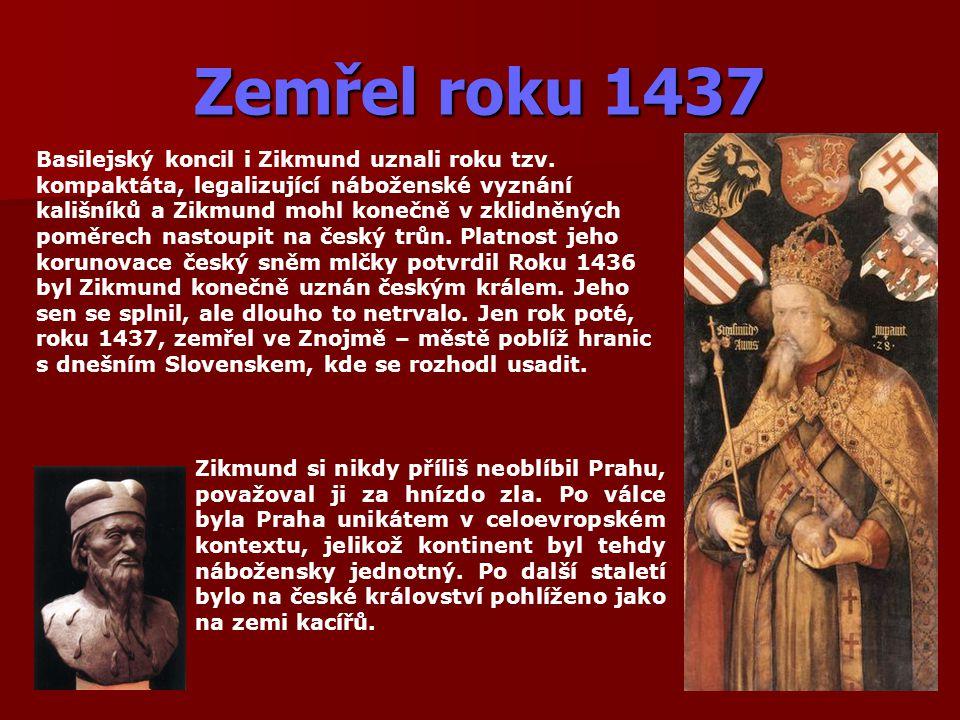 Zemřel roku 1437