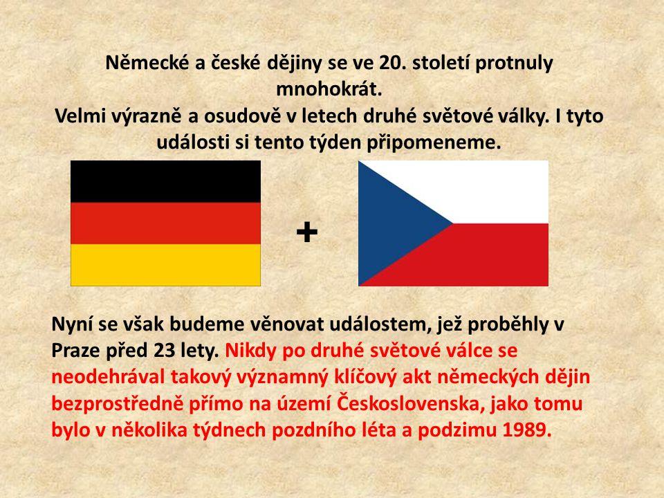 Německé a české dějiny se ve 20. století protnuly mnohokrát.