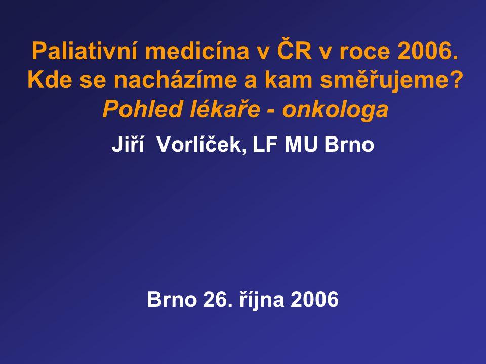 Jiří Vorlíček, LF MU Brno