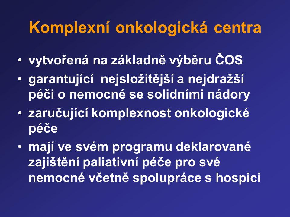 Komplexní onkologická centra