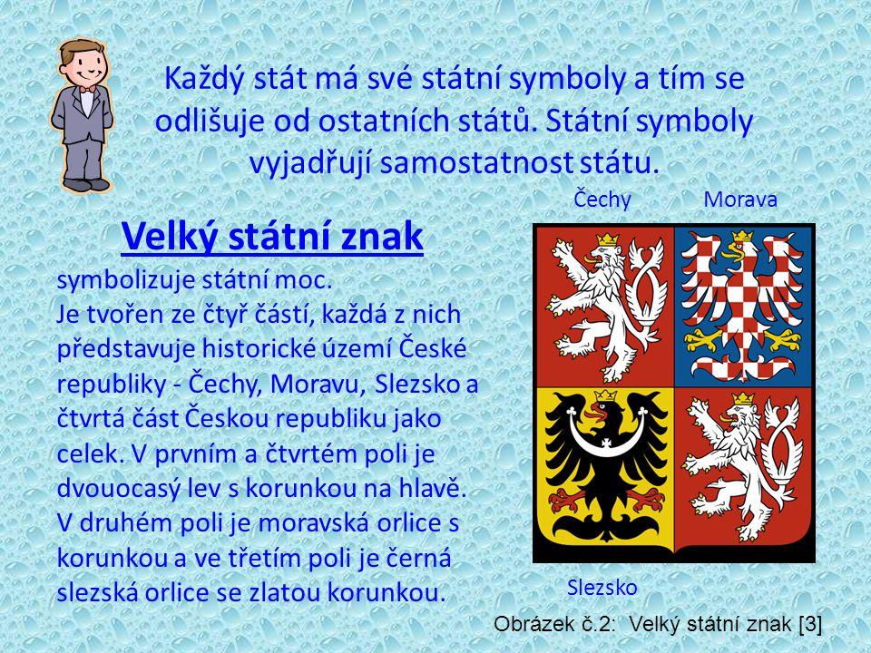 Každý stát má své státní symboly a tím se odlišuje od ostatních států