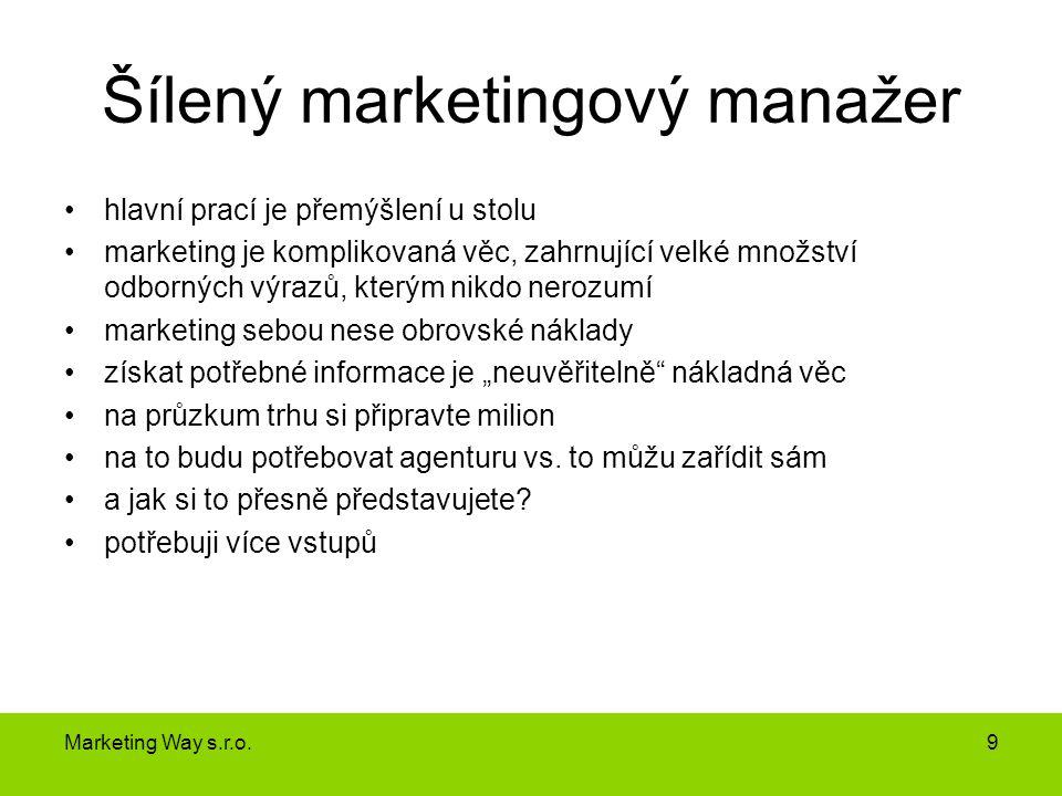 Šílený marketingový manažer