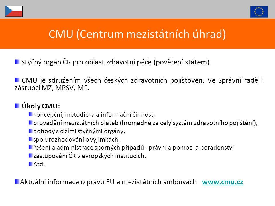 CMU (Centrum mezistátních úhrad)