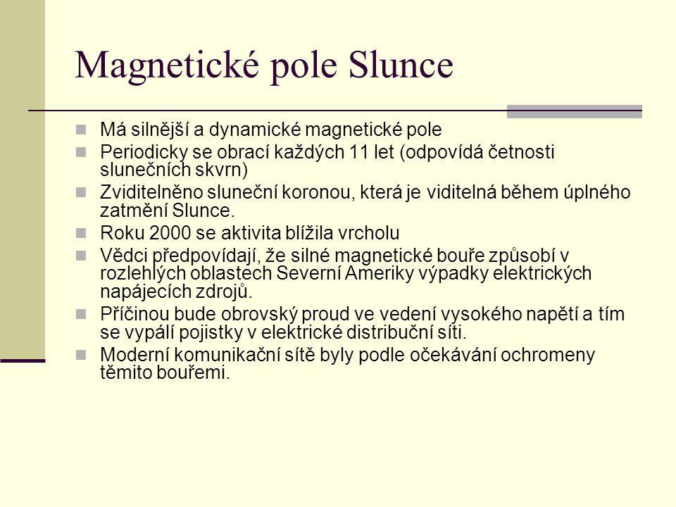 Magnetické pole Slunce