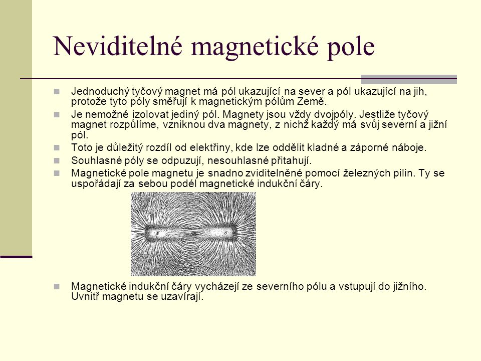 Neviditelné magnetické pole