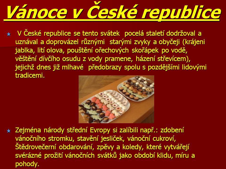 Vánoce v České republice