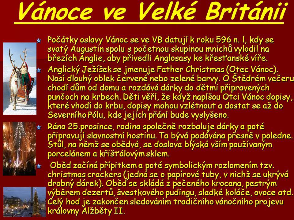 Vánoce ve Velké Británii