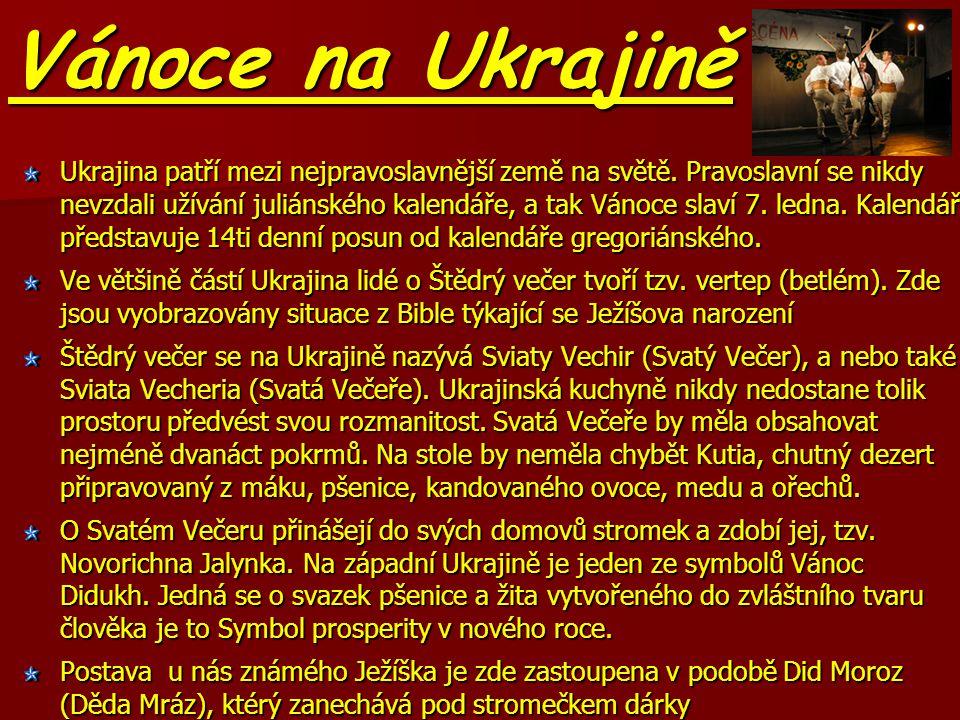 Vánoce na Ukrajině
