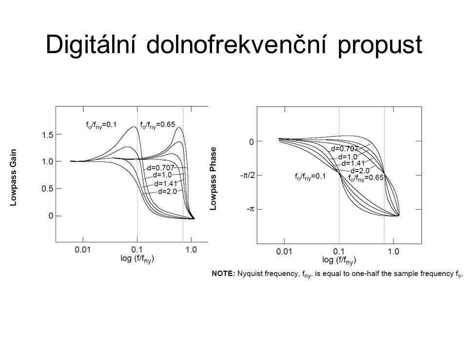 Digitální dolnofrekvenční propust