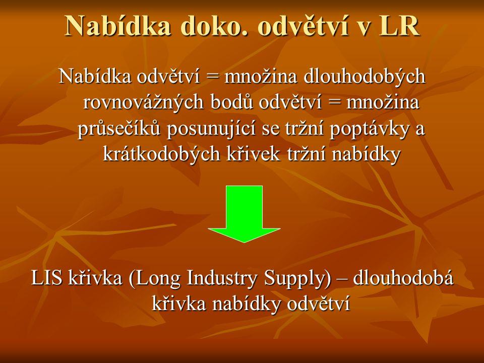 Nabídka doko. odvětví v LR
