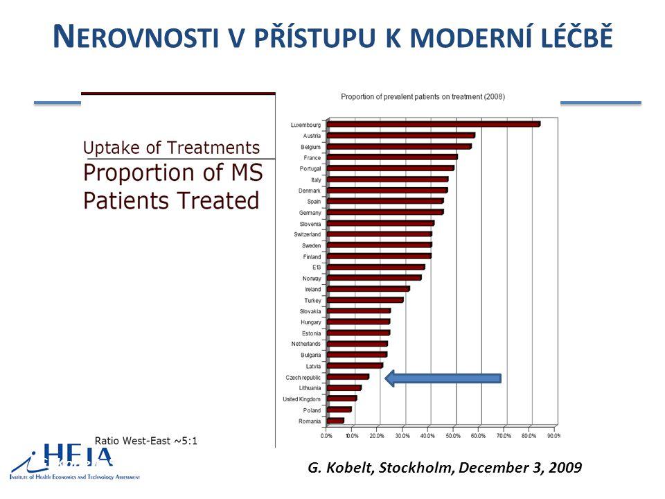 Nerovnosti v přístupu k moderní léčbě