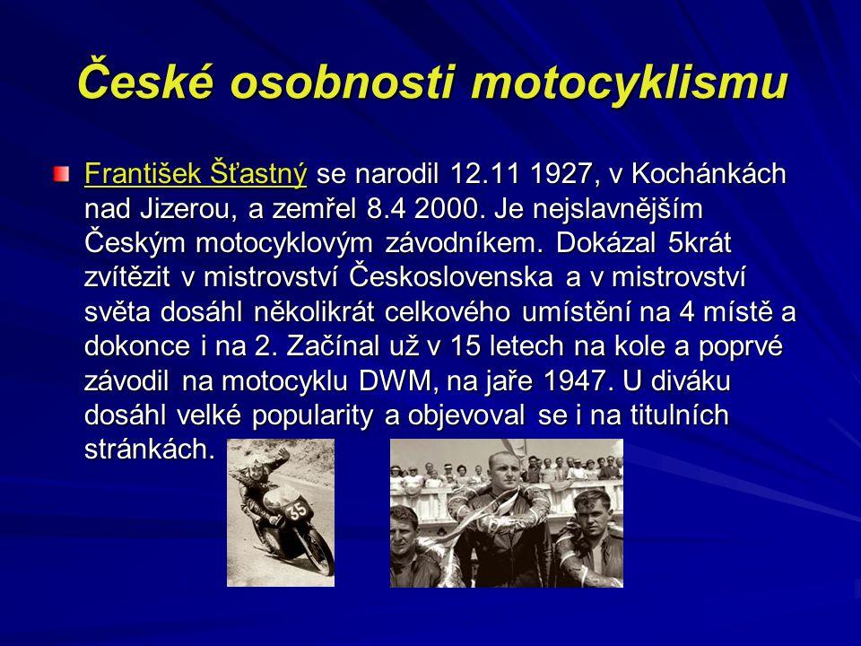 České osobnosti motocyklismu