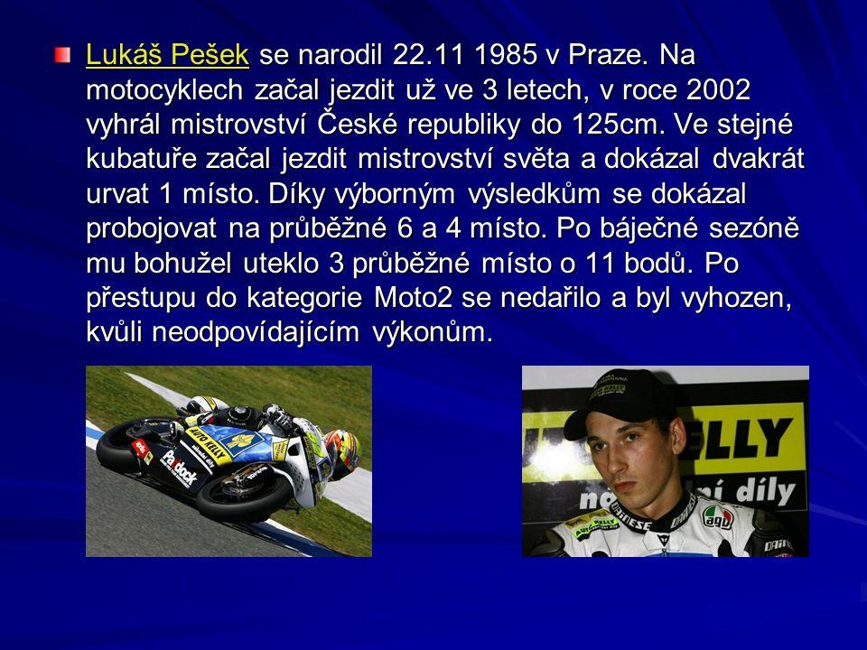 Lukáš Pešek se narodil 22. 11 1985 v Praze