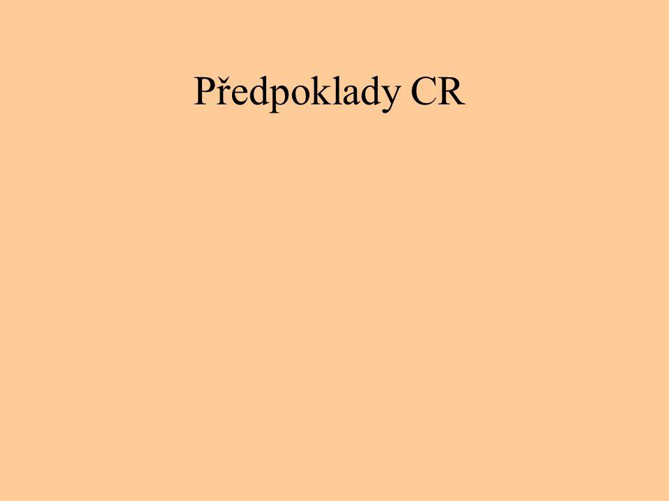 Předpoklady CR