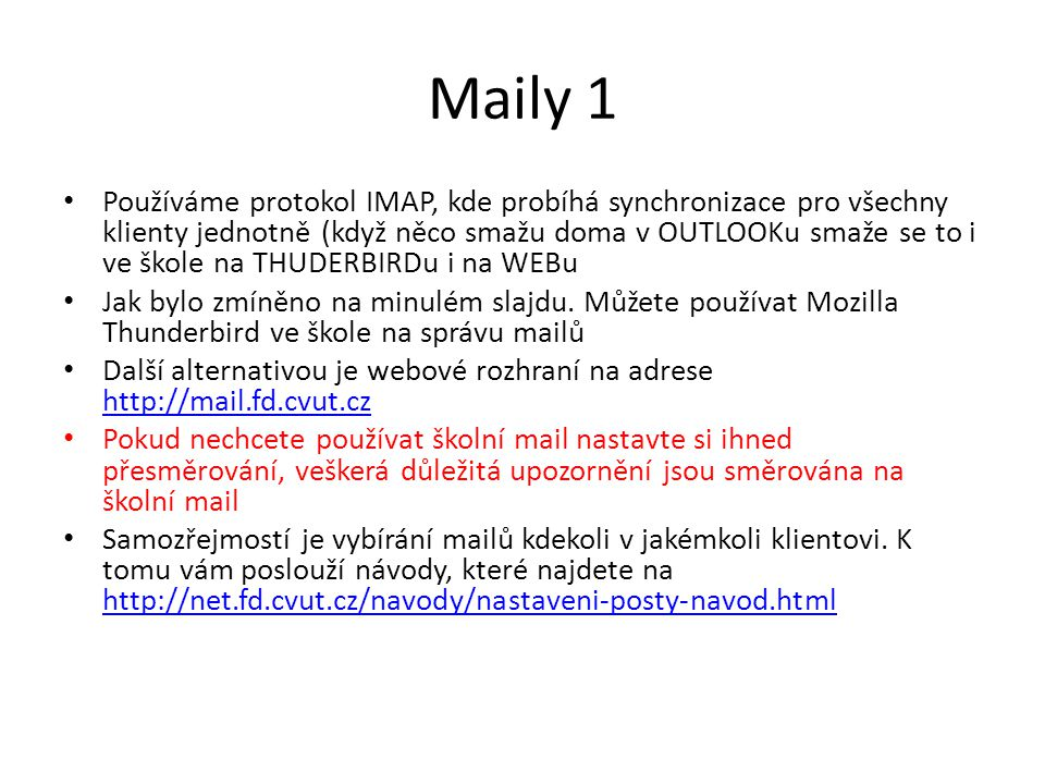 Maily 1