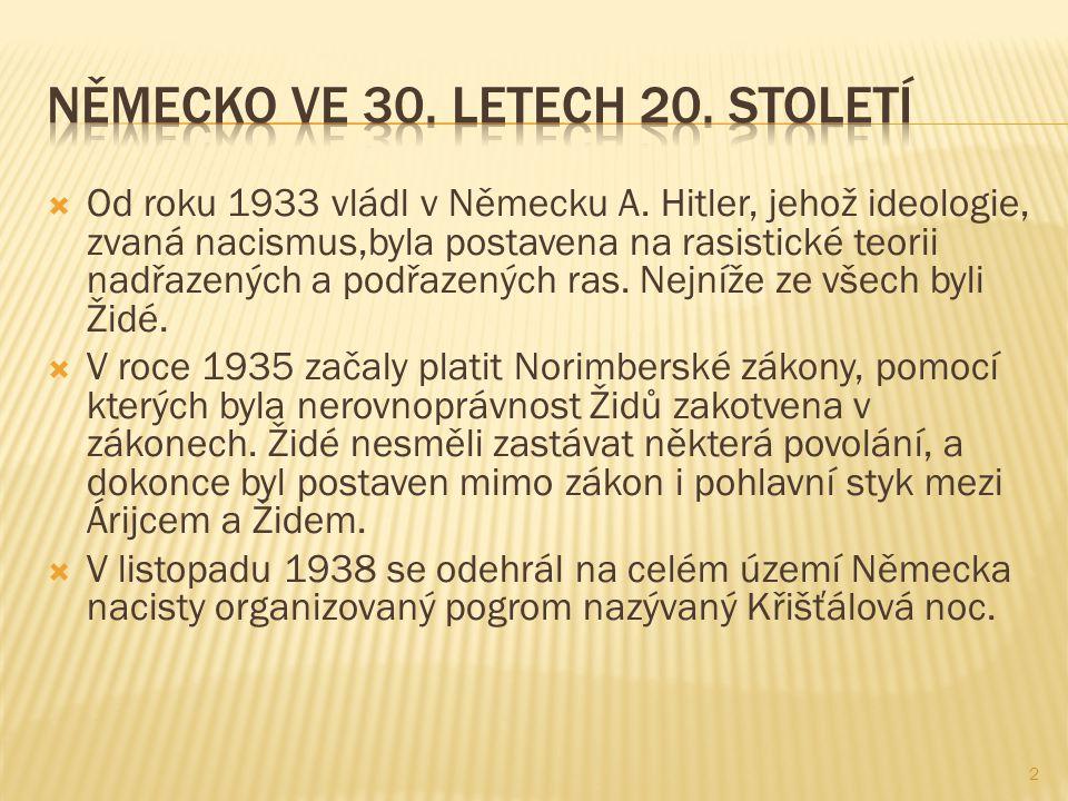 Německo ve 30. letech 20. století