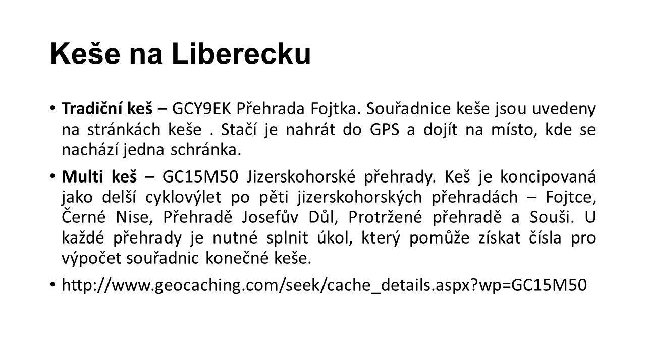 Keše na Liberecku