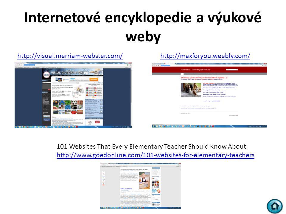 Internetové encyklopedie a výukové weby
