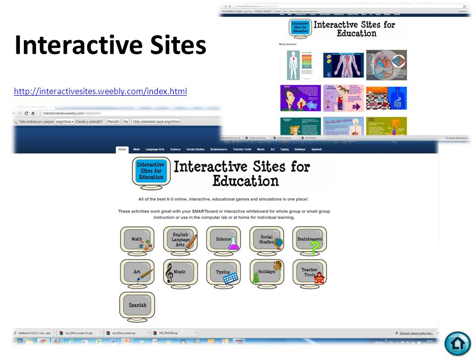 Interactive Sites http://interactivesites.weebly.com/index.html