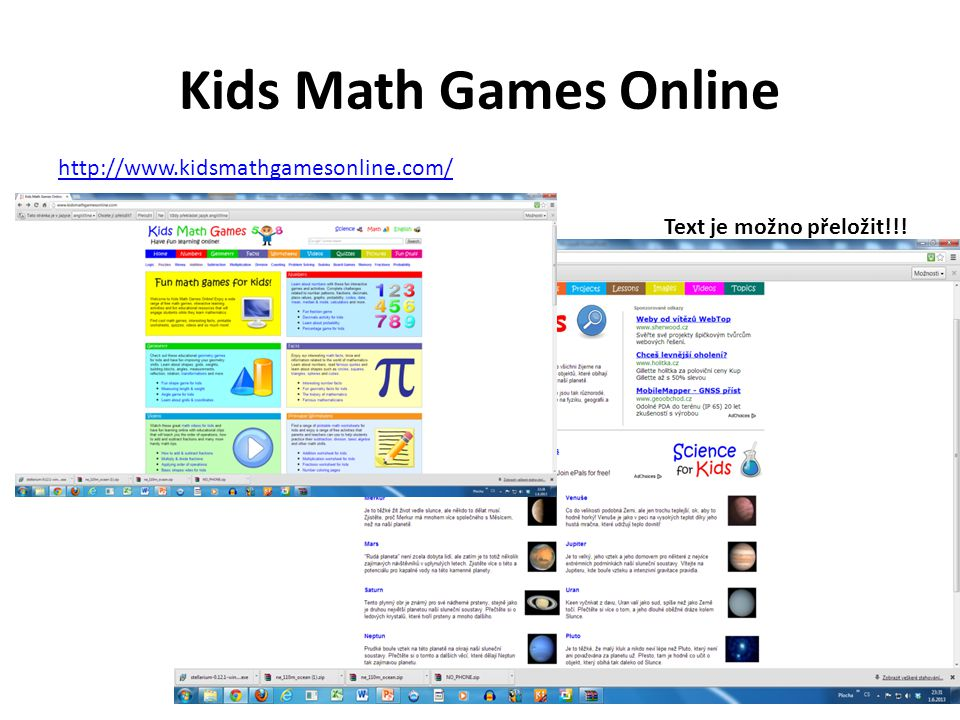Kids Math Games Online http://www.kidsmathgamesonline.com/
