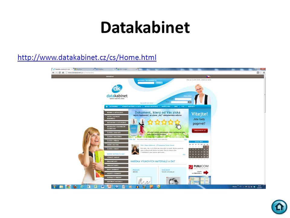 Datakabinet http://www.datakabinet.cz/cs/Home.html
