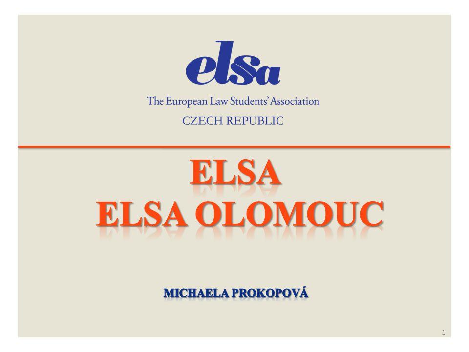 ELSA ELSA Olomouc Michaela Prokopová