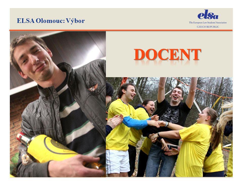 ELSA Olomouc: Výbor DOCENT