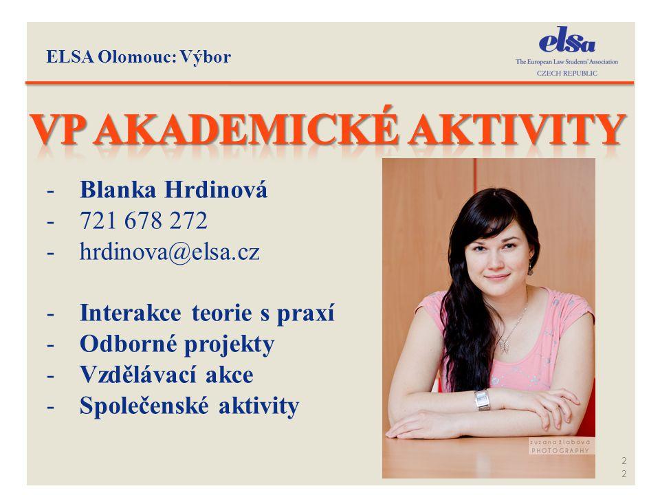VP Akademické aktivity