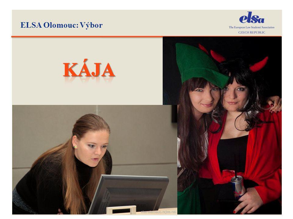 ELSA Olomouc: Výbor kÁJA