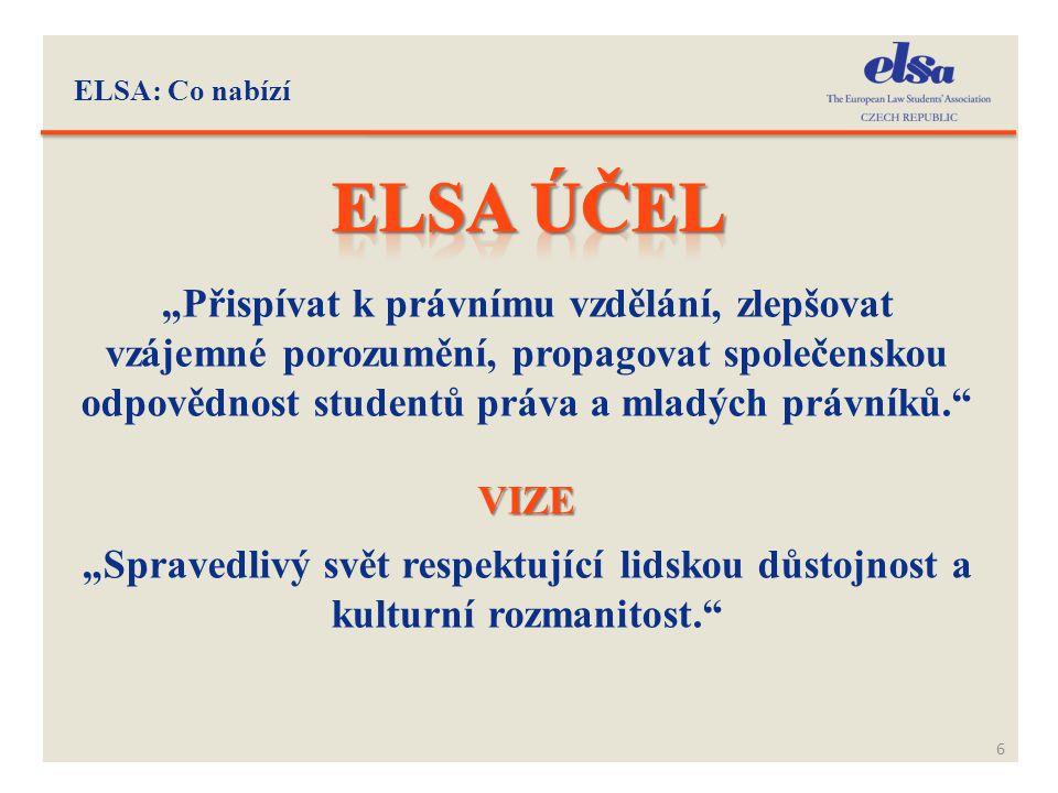 ELSA: Co nabízí Elsa ÚČEL.